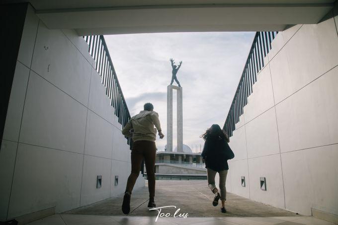 Couple Session at Lapangan Banteng - Jakarta by Too-lus - 004