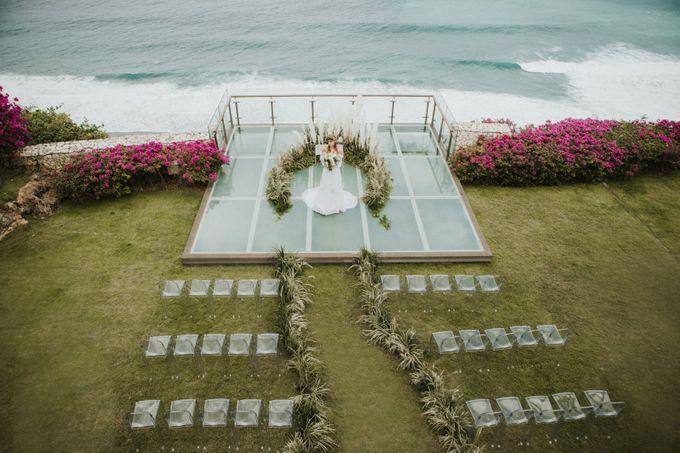 Environmental Friendly Concept Wedding decoration theme by Tirtha Bali - 016