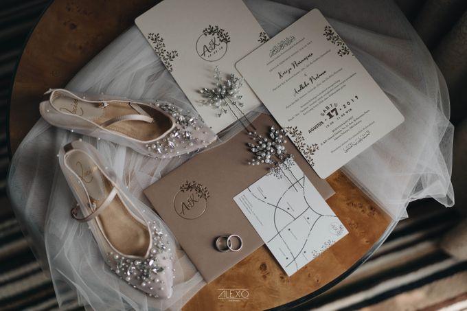 Akad Nikah of Sasha & Andhika by Double Happiness Wedding Organizer - 006