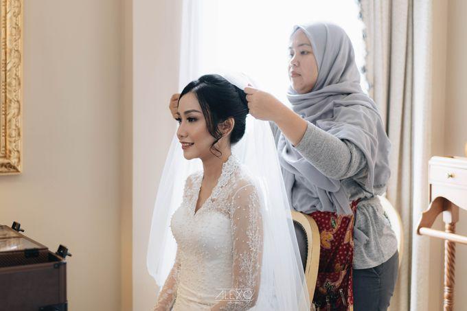 Akad Nikah of Sasha & Andhika by Double Happiness Wedding Organizer - 014