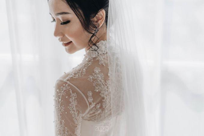 Akad Nikah of Sasha & Andhika by Double Happiness Wedding Organizer - 016