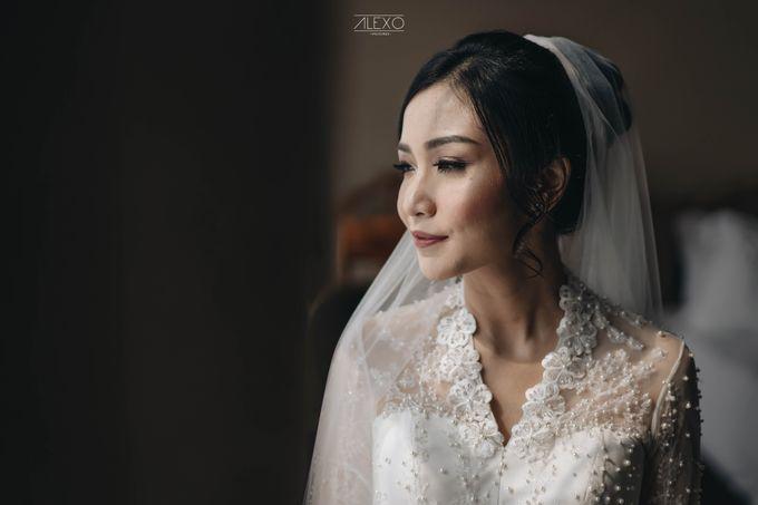 Akad Nikah of Sasha & Andhika by Double Happiness Wedding Organizer - 017