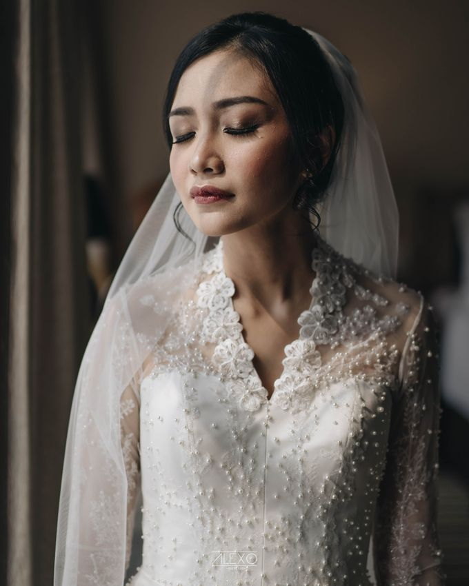 Akad Nikah of Sasha & Andhika by Double Happiness Wedding Organizer - 018