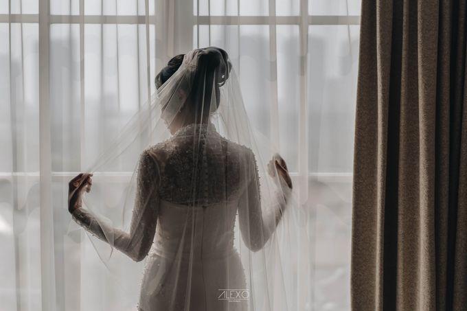 Akad Nikah of Sasha & Andhika by Double Happiness Wedding Organizer - 019