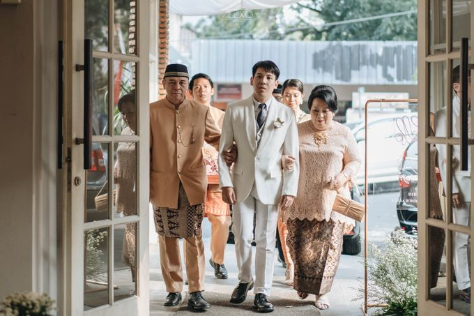 Akad Nikah of Sasha & Andhika by Double Happiness Wedding Organizer - 020