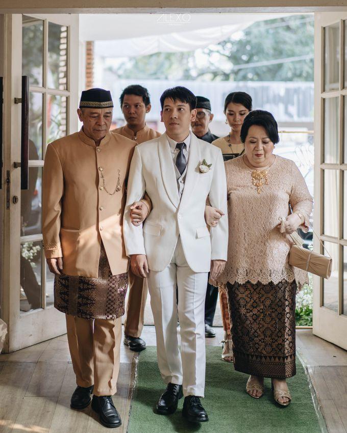 Akad Nikah of Sasha & Andhika by Double Happiness Wedding Organizer - 021