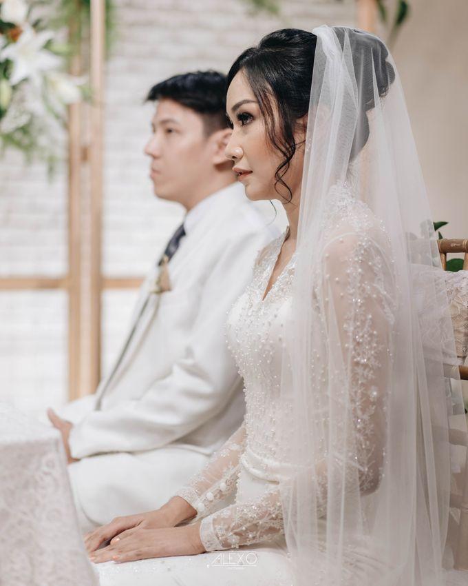 Akad Nikah of Sasha & Andhika by Double Happiness Wedding Organizer - 022