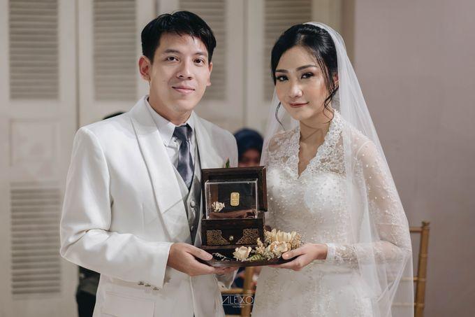 Akad Nikah of Sasha & Andhika by Double Happiness Wedding Organizer - 024