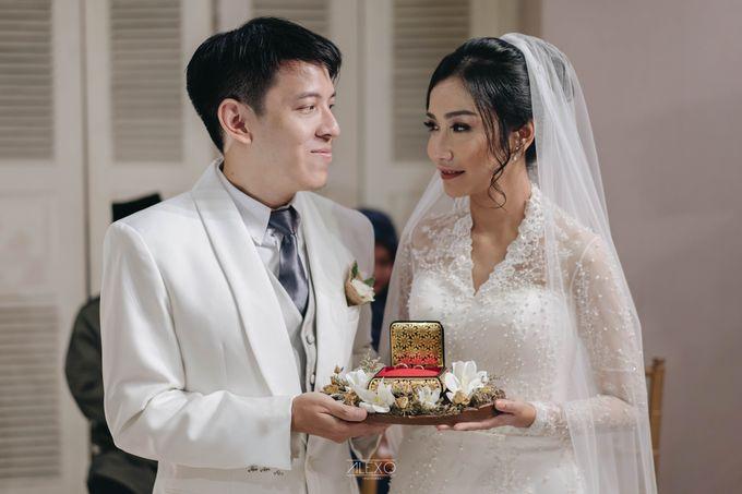 Akad Nikah of Sasha & Andhika by Double Happiness Wedding Organizer - 025