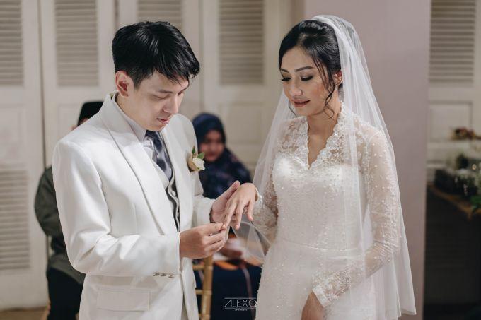 Akad Nikah of Sasha & Andhika by Double Happiness Wedding Organizer - 026