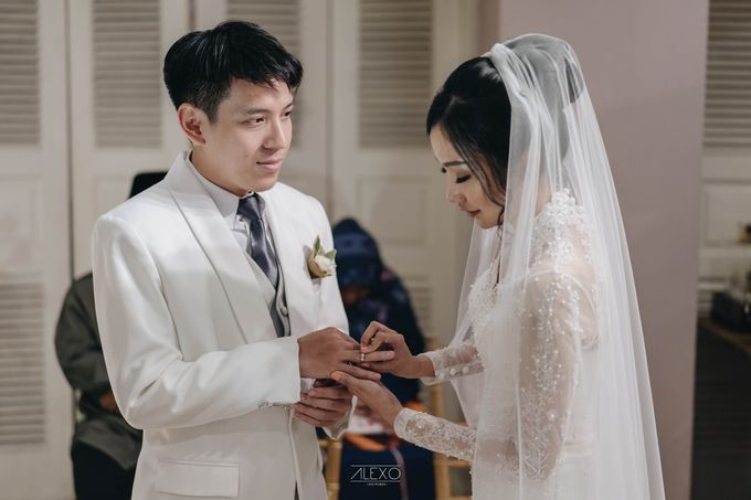 Akad Nikah of Sasha & Andhika by Double Happiness Wedding Organizer - 027