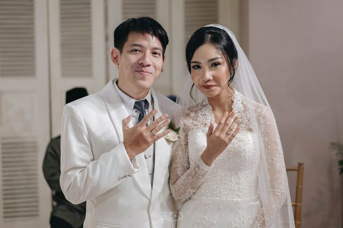 Akad Nikah of Sasha & Andhika by Double Happiness Wedding Organizer - 028