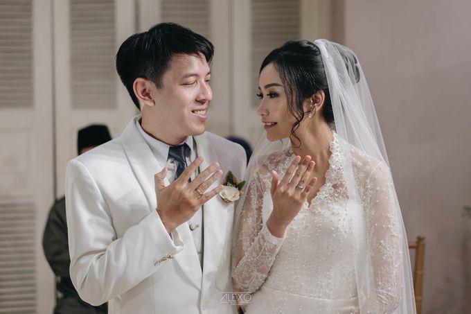 Akad Nikah of Sasha & Andhika by Double Happiness Wedding Organizer - 029