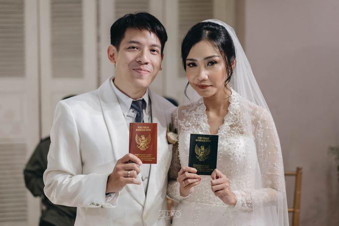 Akad Nikah of Sasha & Andhika by Double Happiness Wedding Organizer - 030