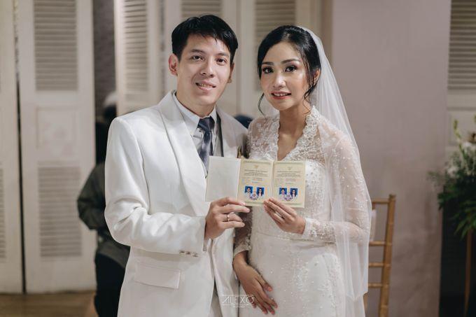Akad Nikah of Sasha & Andhika by Double Happiness Wedding Organizer - 031