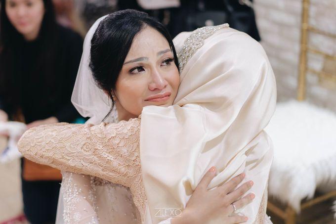 Akad Nikah of Sasha & Andhika by Double Happiness Wedding Organizer - 032