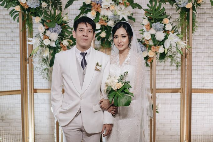 Akad Nikah of Sasha & Andhika by Double Happiness Wedding Organizer - 034