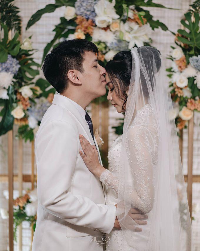 Akad Nikah of Sasha & Andhika by Double Happiness Wedding Organizer - 036