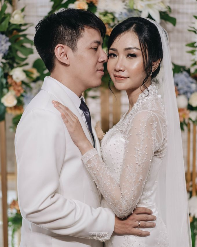 Akad Nikah of Sasha & Andhika by Double Happiness Wedding Organizer - 037