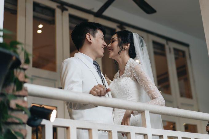 Akad Nikah of Sasha & Andhika by Double Happiness Wedding Organizer - 038