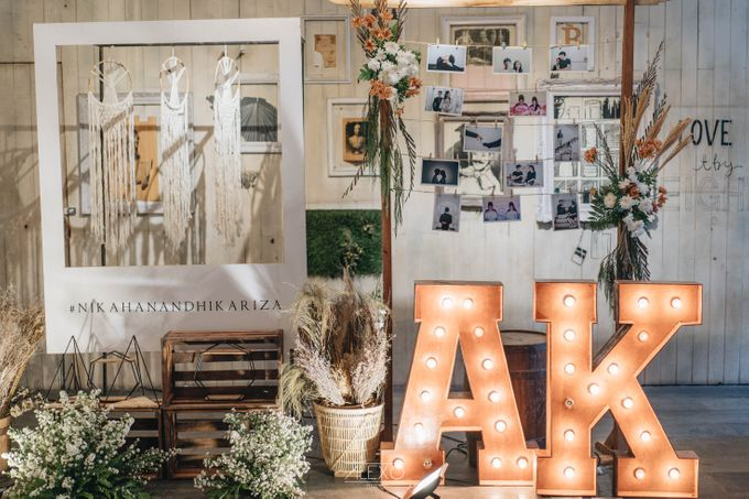 Akad Nikah of Sasha & Andhika by Double Happiness Wedding Organizer - 039