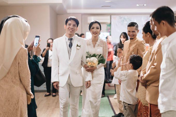 Akad Nikah of Sasha & Andhika by Double Happiness Wedding Organizer - 040