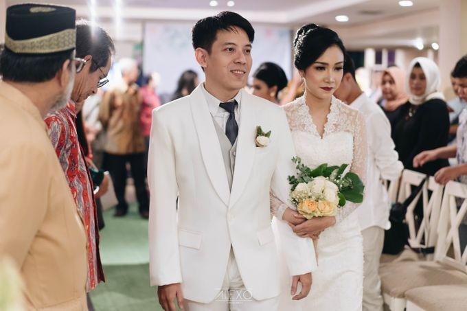 Akad Nikah of Sasha & Andhika by Double Happiness Wedding Organizer - 041