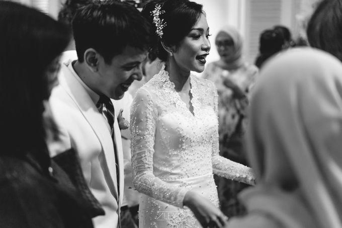 Akad Nikah of Sasha & Andhika by Double Happiness Wedding Organizer - 042