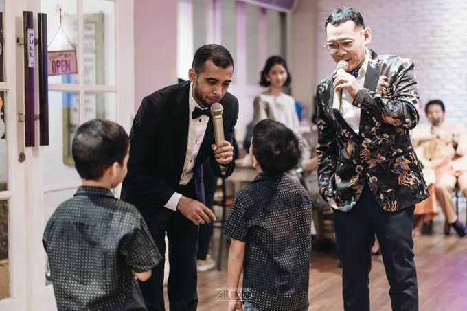 Akad Nikah of Sasha & Andhika by Double Happiness Wedding Organizer - 045