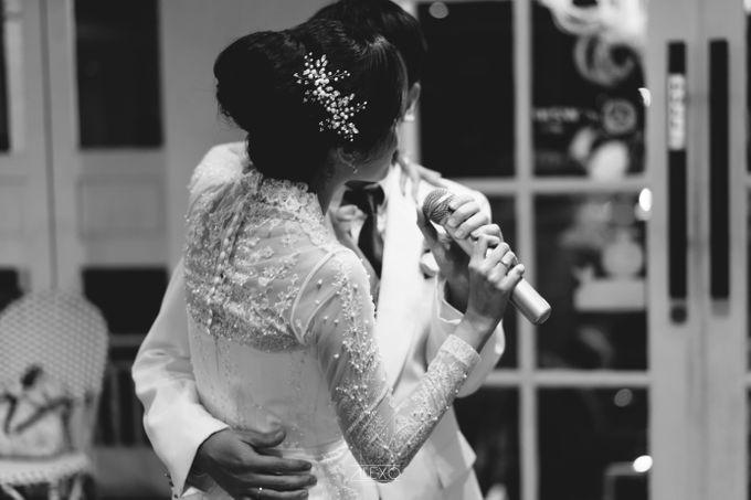 Akad Nikah of Sasha & Andhika by Double Happiness Wedding Organizer - 046