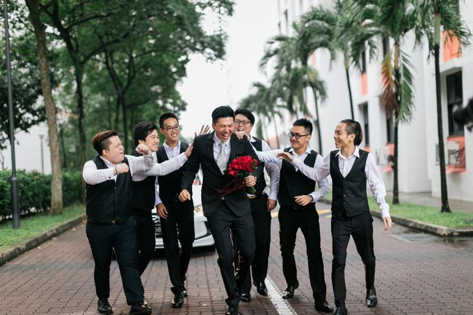 Wedding Day Moment Photography of Say Hong & Tricia by DTPictures - 009