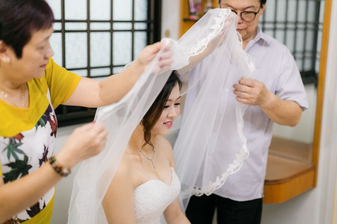 Wedding Day Moment Photography of Say Hong & Tricia by DTPictures - 006