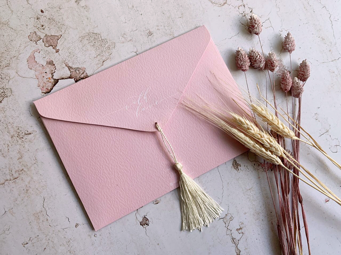 Tassel Embellishments  by Trouvaille Invitation - 001