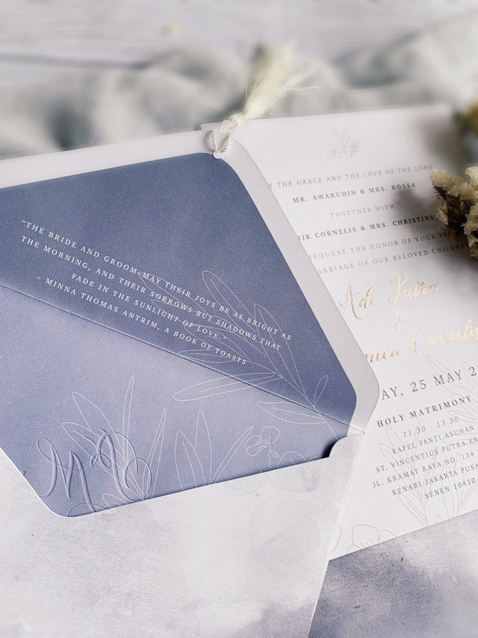 Whimsical Forest by Trouvaille Invitation - 005