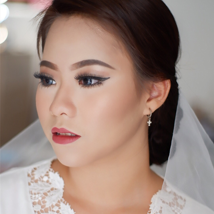 Wedding Makeup Look by Troy Makeup Artist - 035