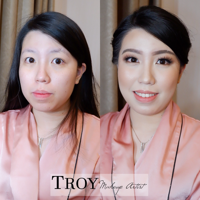 Bridesmaid makeup 2 by Troy Makeup Artist - 001