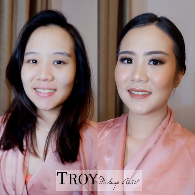 Bridesmaid makeup 2 by Troy Makeup Artist - 005