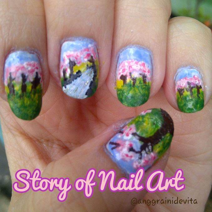 Painting Nails by Story of Nailart - 014