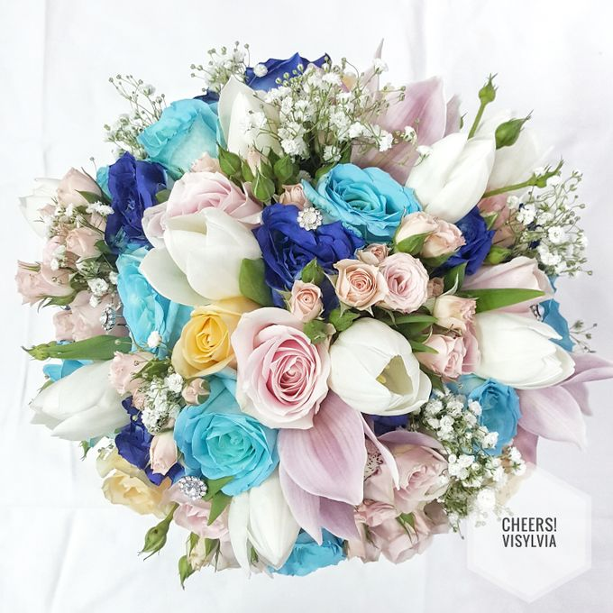 WEDDING BOUQUET  by visylviaflorist - 009