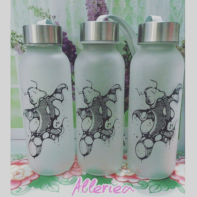 Glass Tumbler by Alleriea Wedding Gifts - 008