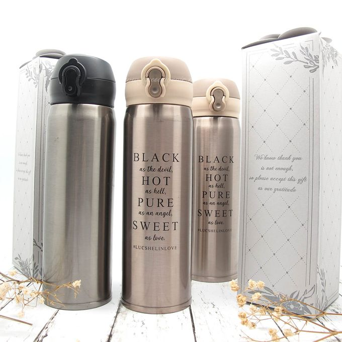 Thermos Press Include Personalised Paperbag by Fine Souvenir - 001