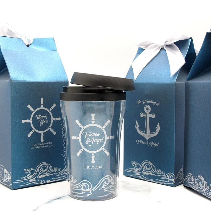 Tumbler Small Include Paperbag & Label by Fine Souvenir - 001