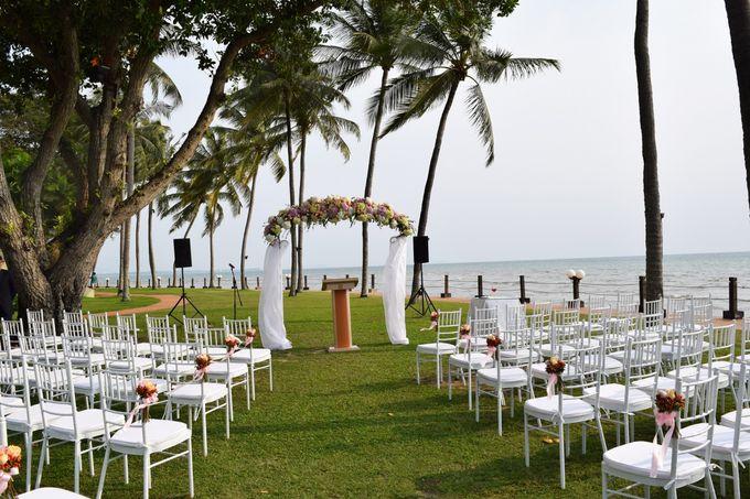 Wedding by the Beach by Shangri-La Rasa Sayang Resort - 001