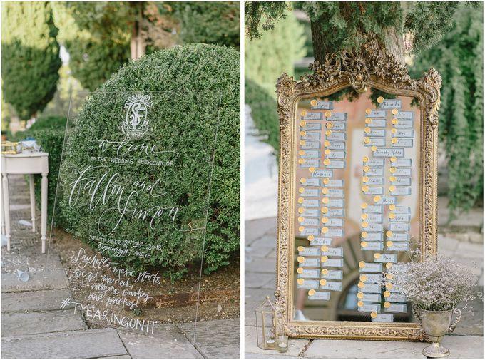 Wedding in Tuscany by Vera Wang Singapore - 030