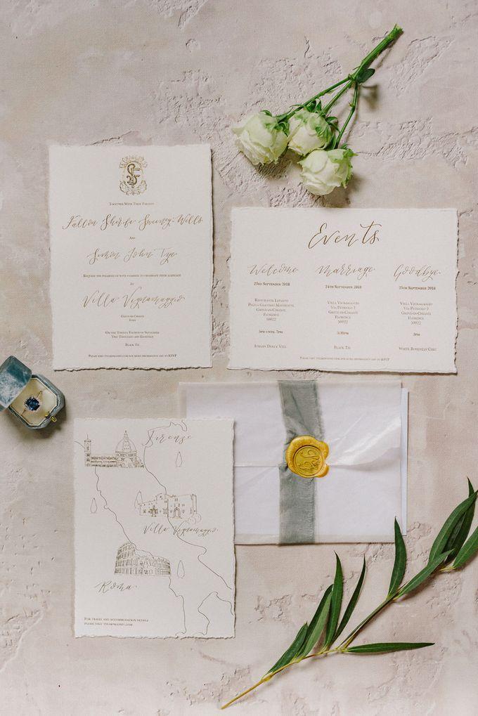 Wedding in Tuscany by Vera Wang Singapore - 005