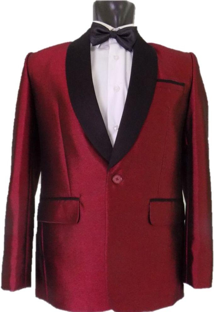 Tuxedo Merah Maroon by Najifa Jas - 001