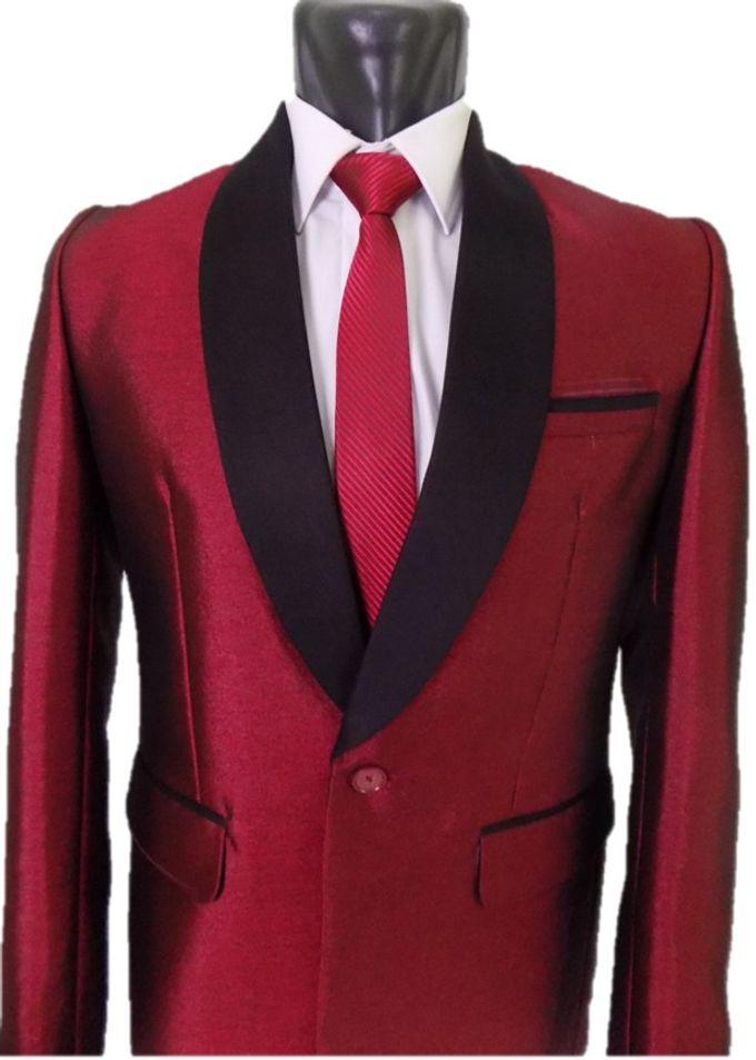 Tuxedo Merah Maroon by Najifa Jas - 006