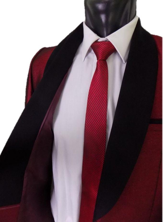 Tuxedo Merah Maroon by Najifa Jas - 004