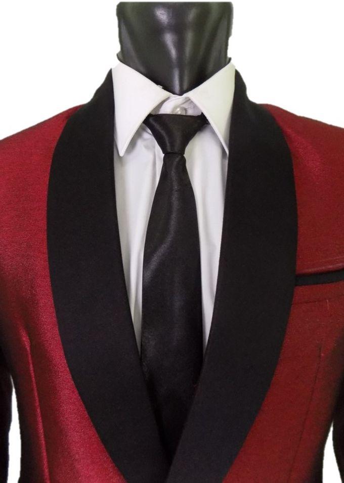 Tuxedo Merah Maroon by Najifa Jas - 003