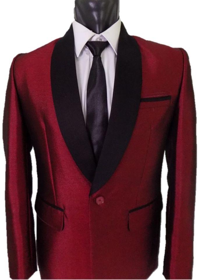 Tuxedo Merah Maroon by Najifa Jas - 002